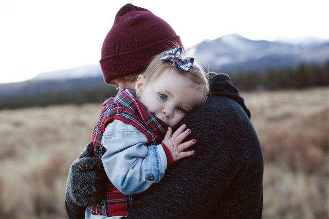 optometrist, Dad Hugging Baby Girl in Atlanta, GA