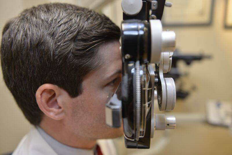 eye exam in the woodlands