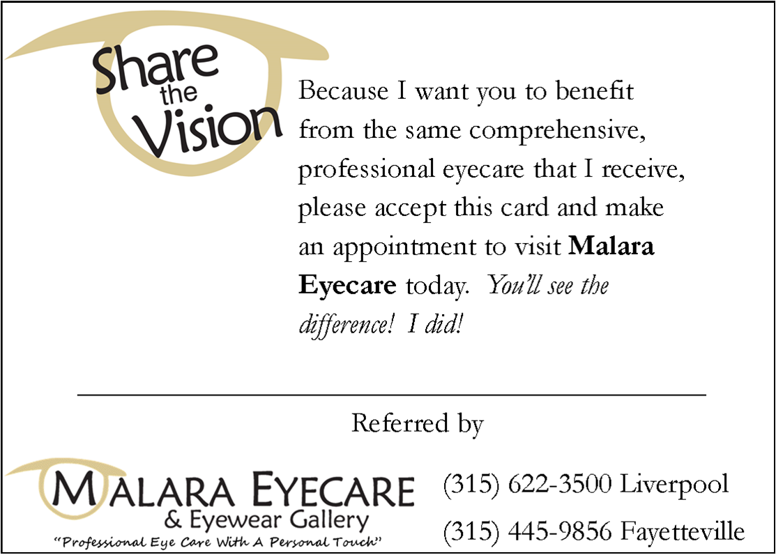 1 share the vision referral card