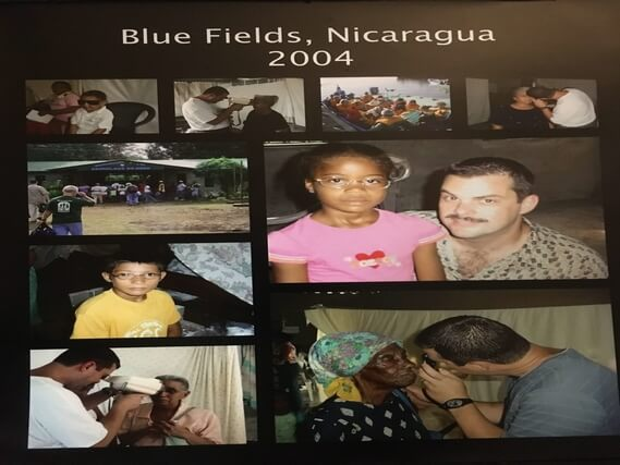 Dr. Malara's Mission Trip to Nicaragua in 2004