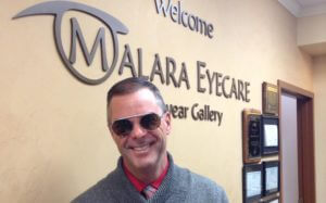 Dr. Malara in sunglasses