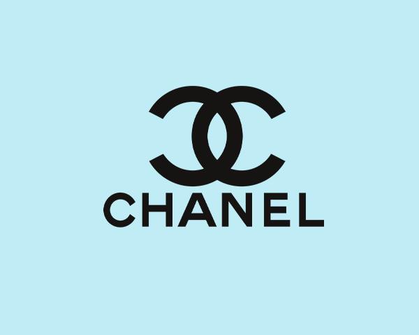 Chanel designer frames logo