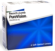 bausch and lomb purevision plano, tx