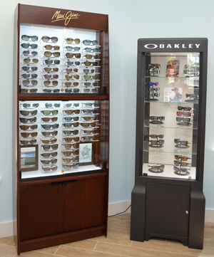 Drs Kelso and Kelso sell designer frames and sunglasses in Jupiter, FL