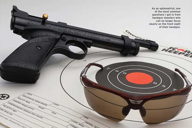 eye doctor, shooting glasses for pistol in Edmonton, Alberta