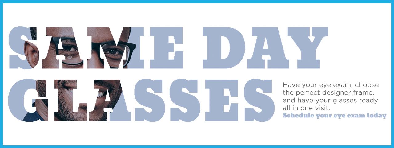 Same Day Glasses Slideshow