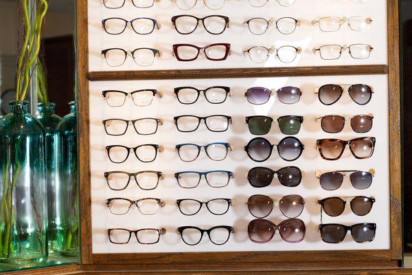 eyeglasses and sunglasses