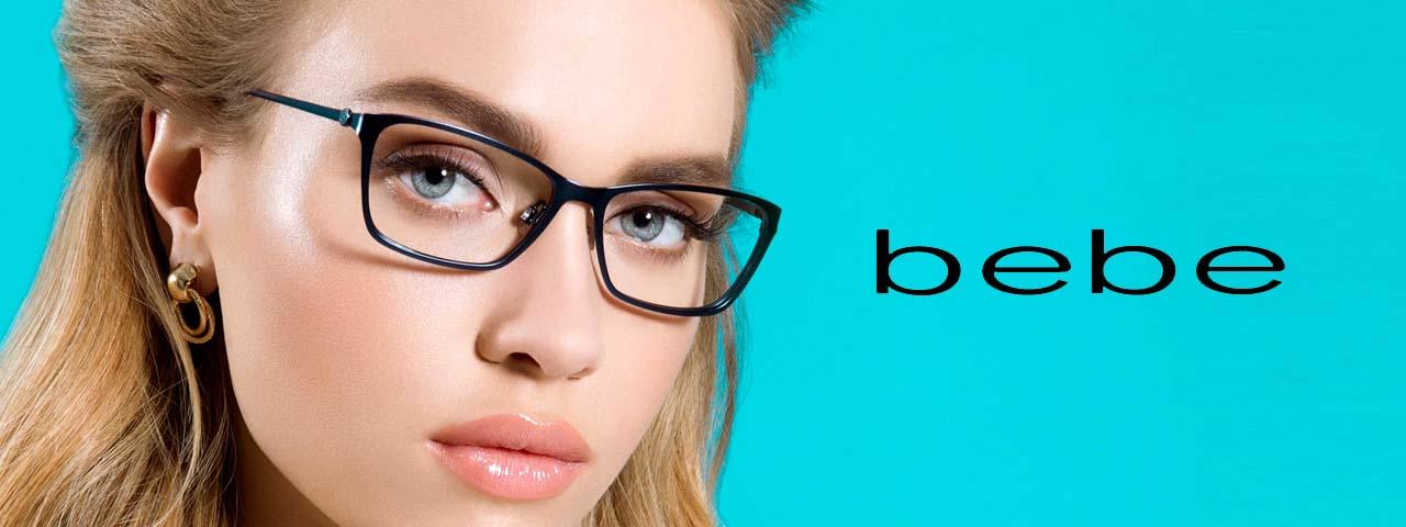 Eye Care, Woman Wearing bebe sunglasses in Loveland,CO