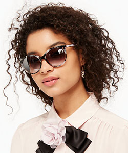 Eye doctor, Model wearing Kate Spade sunglasses in Hattiesburg, MS