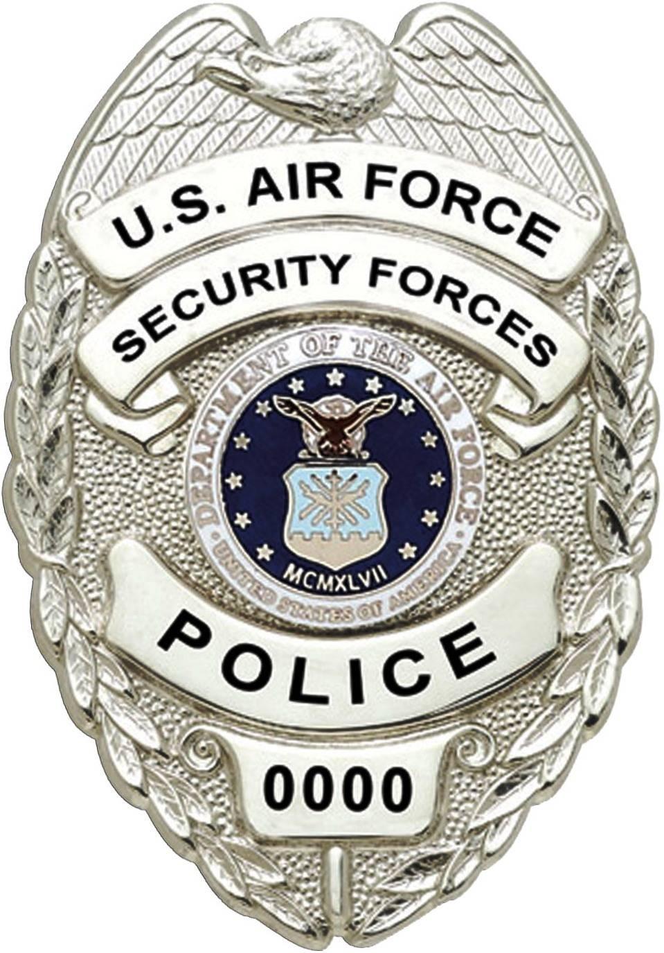 US Air Force Civilian Police badge