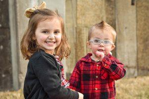 2 young children, eye doctor, Scottsdale, AZ