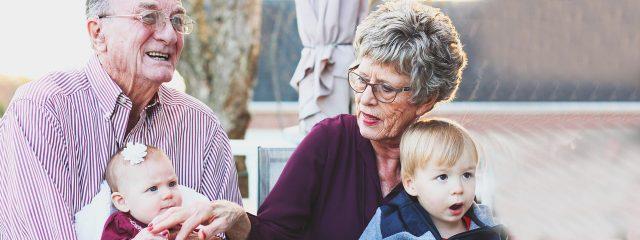 Optometrist grandparents with grandson in Phoenix, Tempe & Scottsdale, AZ