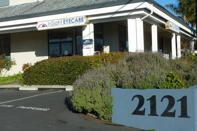 Optometrist, our office in Capitola, CA