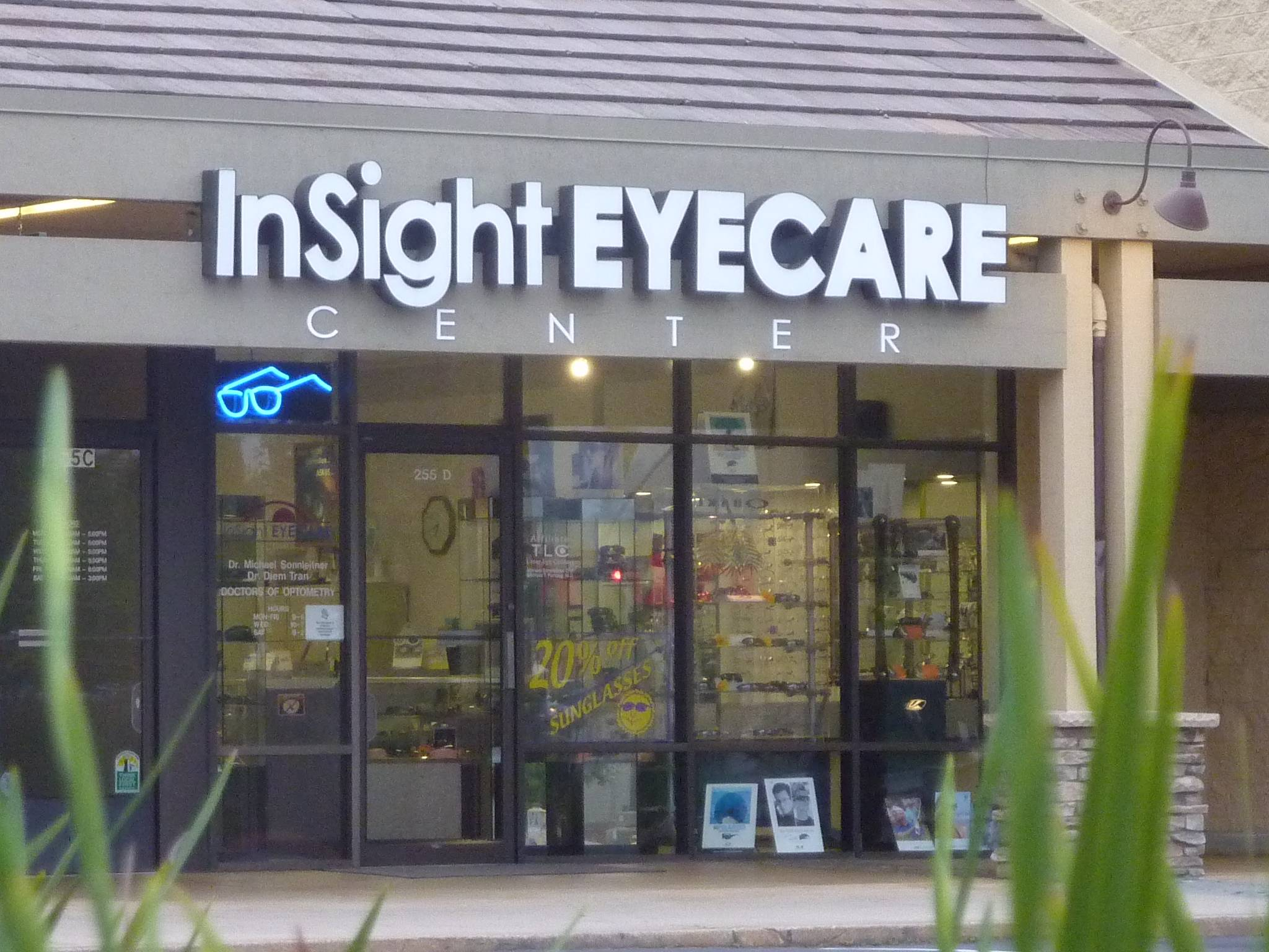 InSight Eyecare Optometry exterior