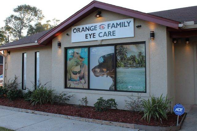 Eye doctor, our practice in Orange, TX