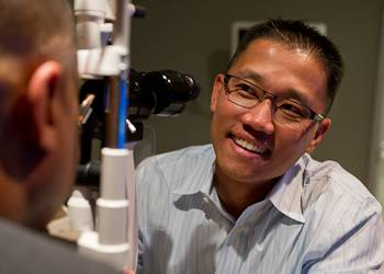 Professional Eye Exam at Las Colinas Vision Center