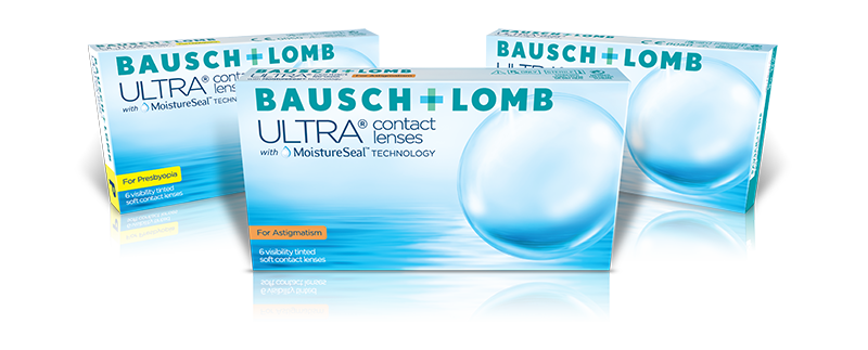 Bausch Lomb ULTRA for Astigmatism contact lenses