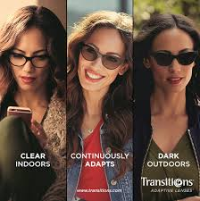 Women with Transition lenses