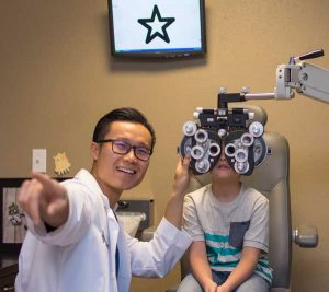 Laria Childrens Eye Exam Star