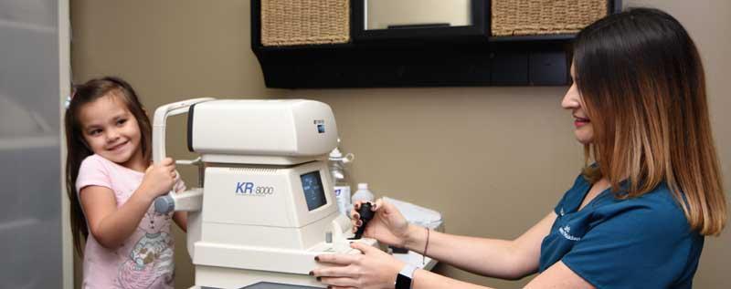 Laria Eye Care Children's Eye Exams