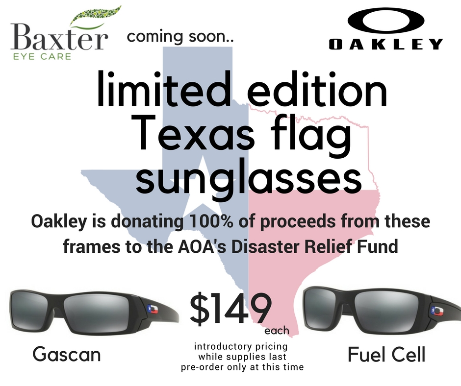 TX flag sunglasses