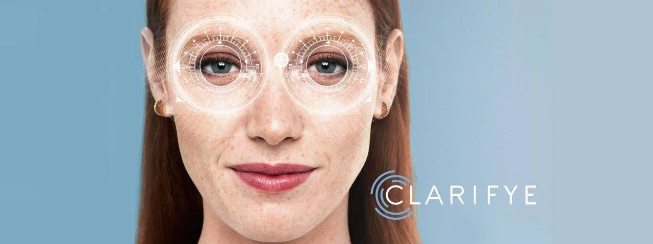 Woman having eye exam - optometrist - Fairfax, VA