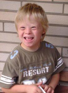 Boy with Down Syndrome, Eye Doctor, Glassboro, NJ