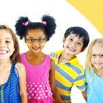 children wearing glasses in Glassboro, NJ