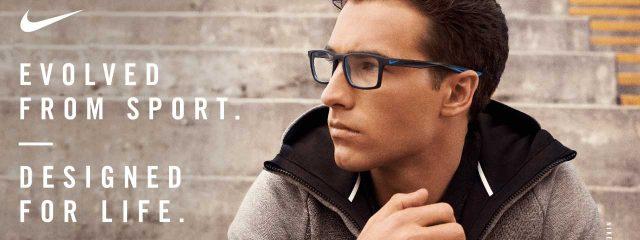 Eye doctor, man wearing Nike eyeglasses in Glassboro, NJ