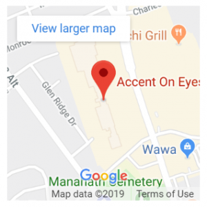 accent on eyes nj map