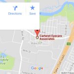 Carteret Eyecare Associates map