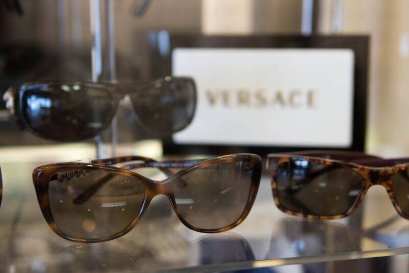 Sunglasses at the Carteret optical