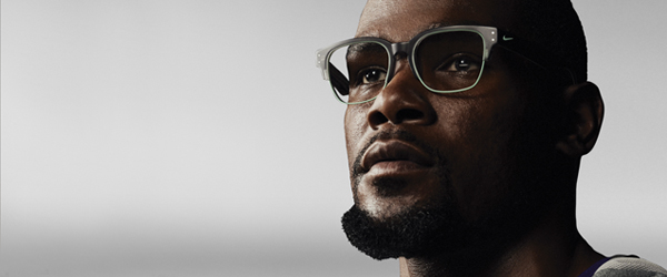 Lebron James wearing Nike eyeglasses