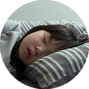 Asian Child Sleeping Ortho k Sqr