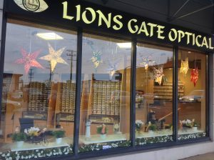 Exteriour Lions Gate Optometry