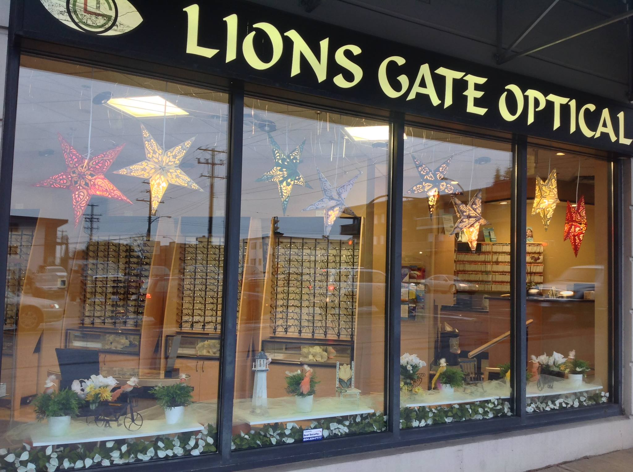 Lions Gate Optical Exterior, located in North Vancouver, British Columbia