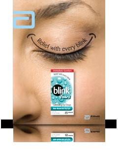 Blink Tears Ad