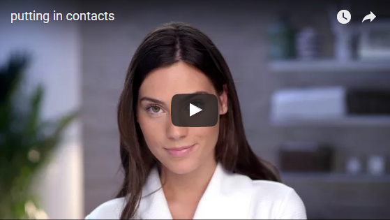 Video for contact lenses
