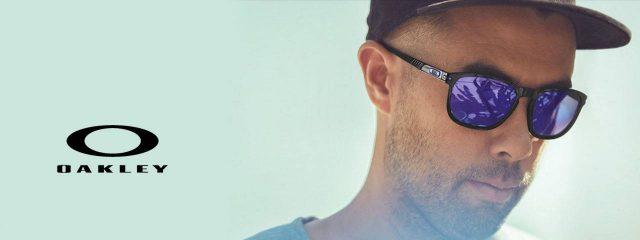 Eye doctor, man wearing oakley sunglasses in Lantana, FL