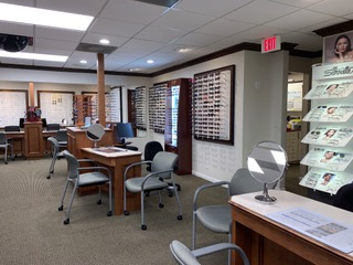 Our Glasses & Frames display in Lantana, Florida