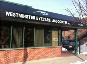 exterior | Westminster Eyecare | Optometrists in Providence, RI | Location