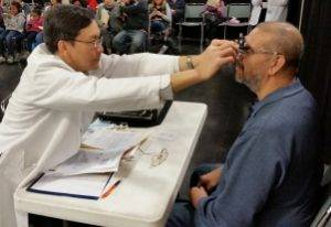 Huntington Beach Eye Doctor Helping with Eyeglasses