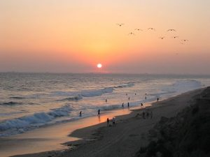 Beautiful Sight, Sunset at Huntington Beach