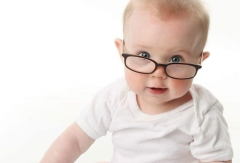 Optometrist,Baby Wearing Eyeglasses in Huntington Beach,CA