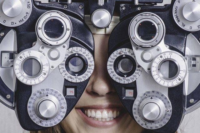 Photo of woman's eye