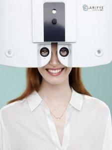 Clarifye eye exam Akron OH