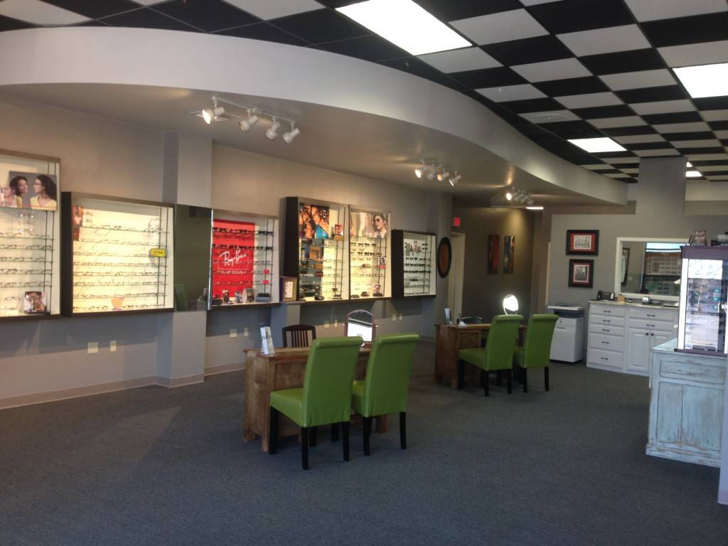 Inside our Lafayette eye clinic
