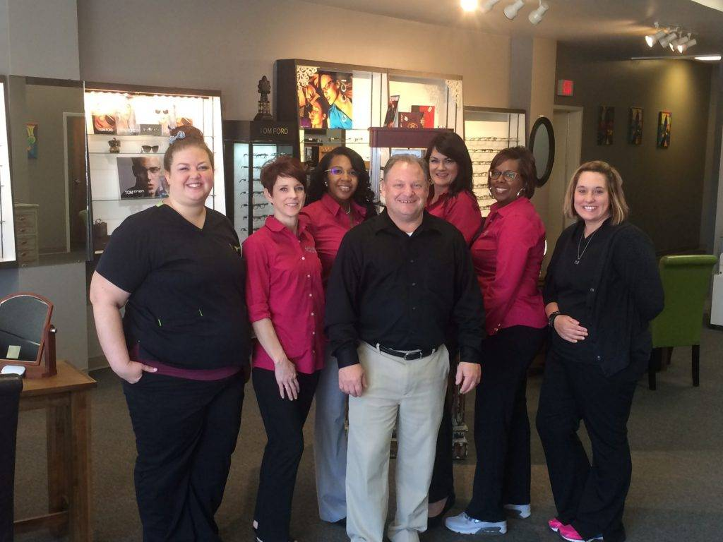 Our Lafayette eye care staff