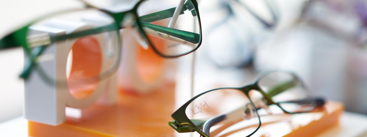 Eye care, pair of eyeglasses in St. Louis & St.Charles, MO