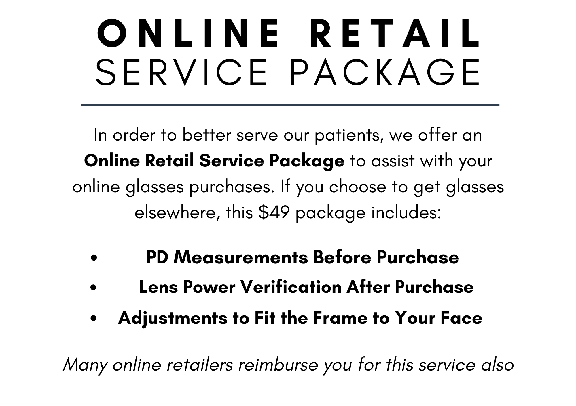 Web V. Online Retail Service Package
